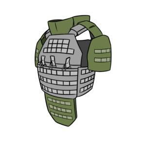 Обвесы для бронежилета